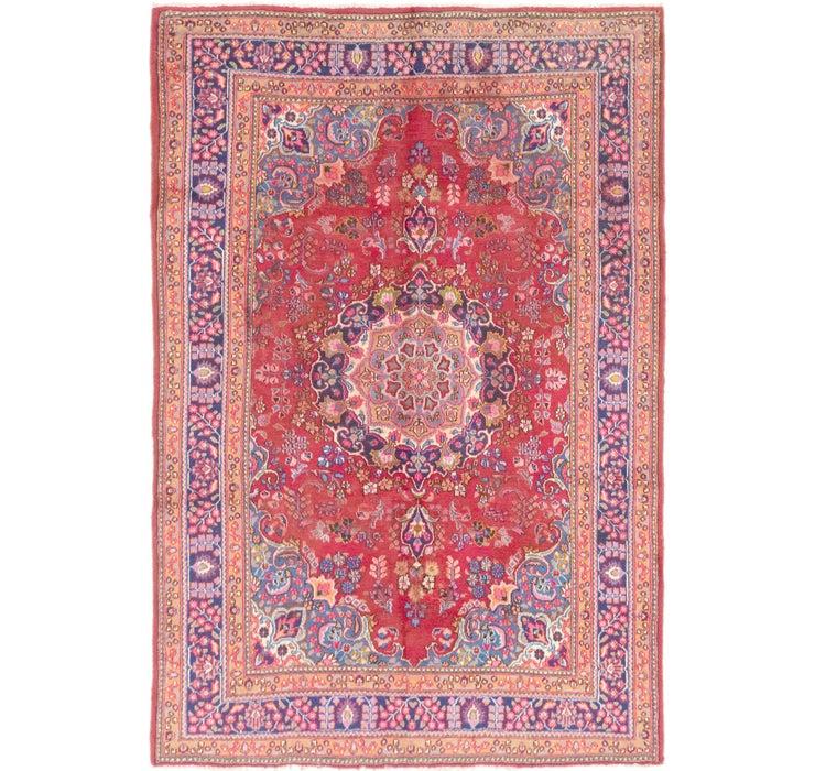 6' 7 x 9' 6 Mashad Persian Rug