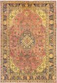 6' 7 x 8' 9 Tabriz Persian Rug thumbnail