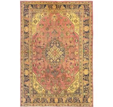 6' 7 x 8' 9 Tabriz Persian Rug main image