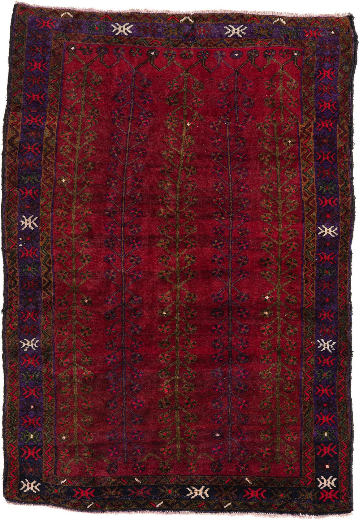 5' 2 x 7' 5 Shiraz Persian Rug main image