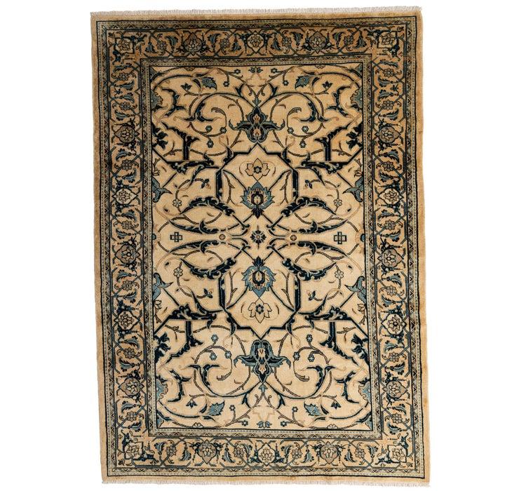 6' x 10' Meshkabad Persian Rug