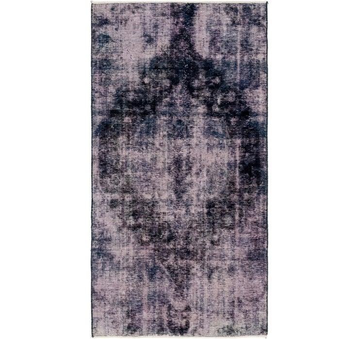 3' 9 x 7' Ultra Vintage Persian Rug