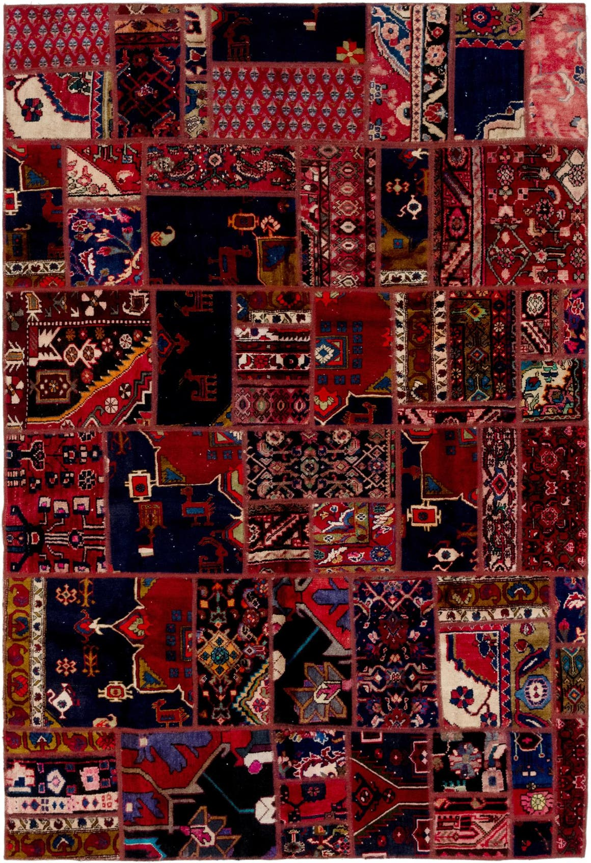 6' 2 x 9' Ultra Vintage Persian Rug main image