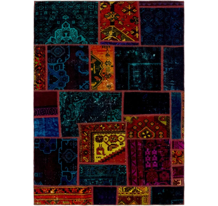 152cm x 208cm Ultra Vintage Persian Rug