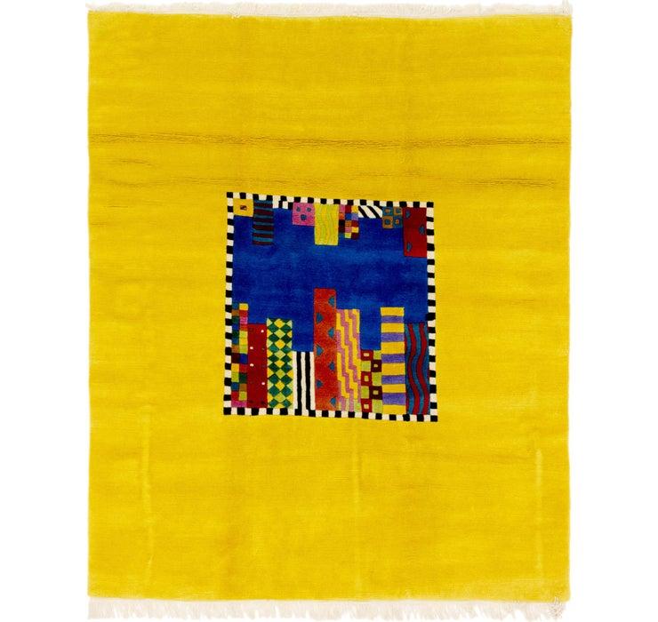 6' 5 x 7' 9 Nepal Square Rug
