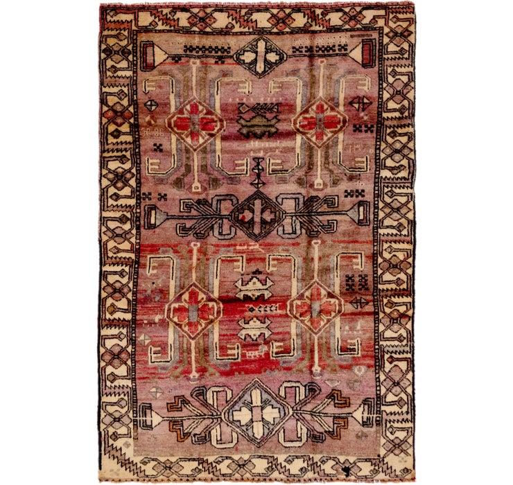 5' 2 x 7' 10 Shiraz Persian Rug
