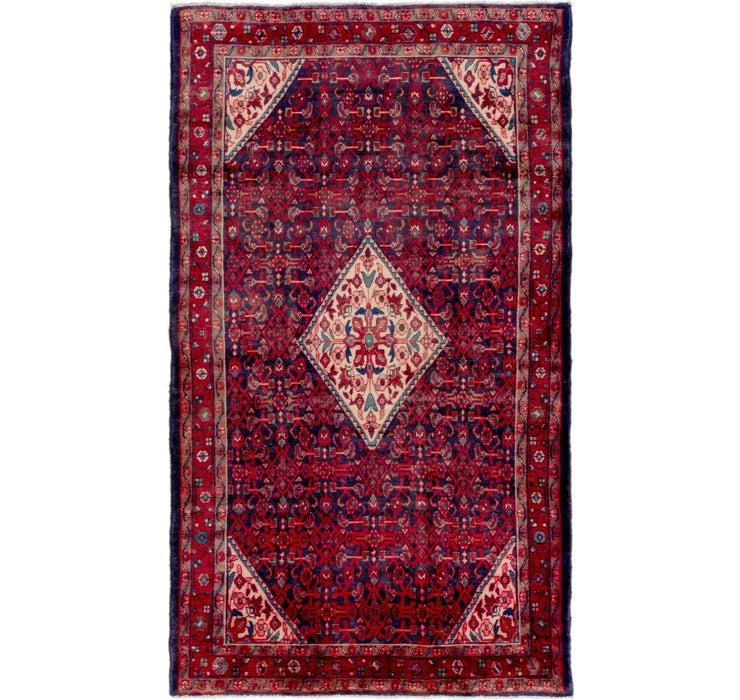 163cm x 282cm Hossainabad Persian Rug