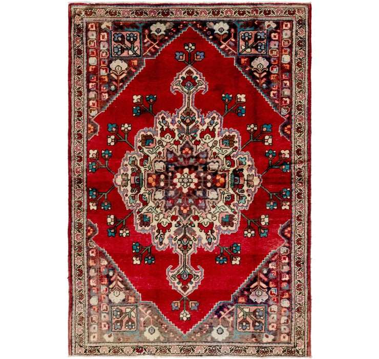 4' 5 x 6' 5 Bakhtiar Persian Rug