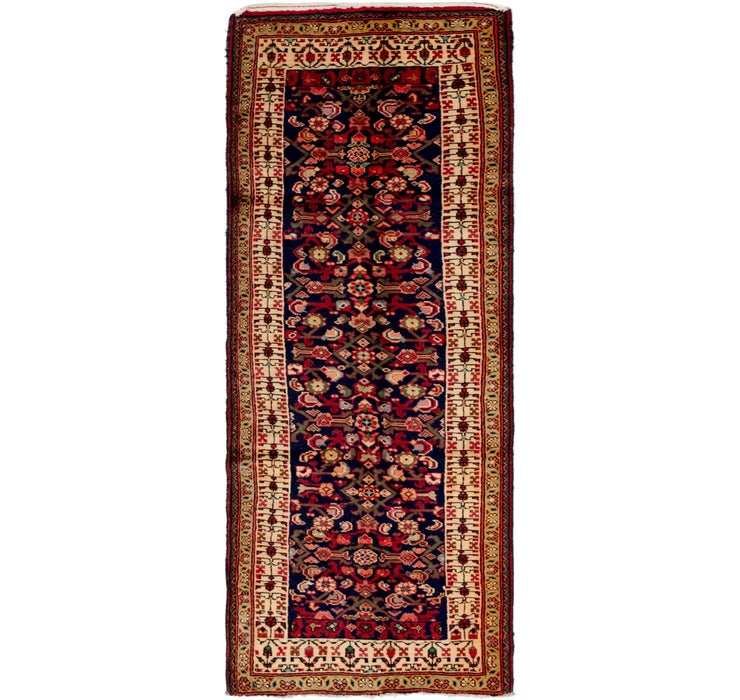 102cm x 262cm Hossainabad Persian Run...