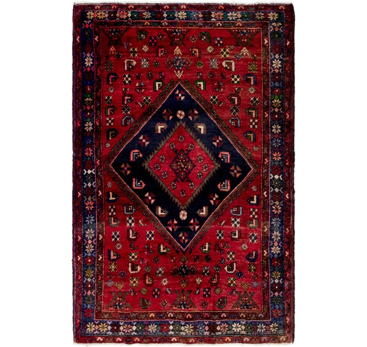132cm x 203cm Gholtogh Persian Rug