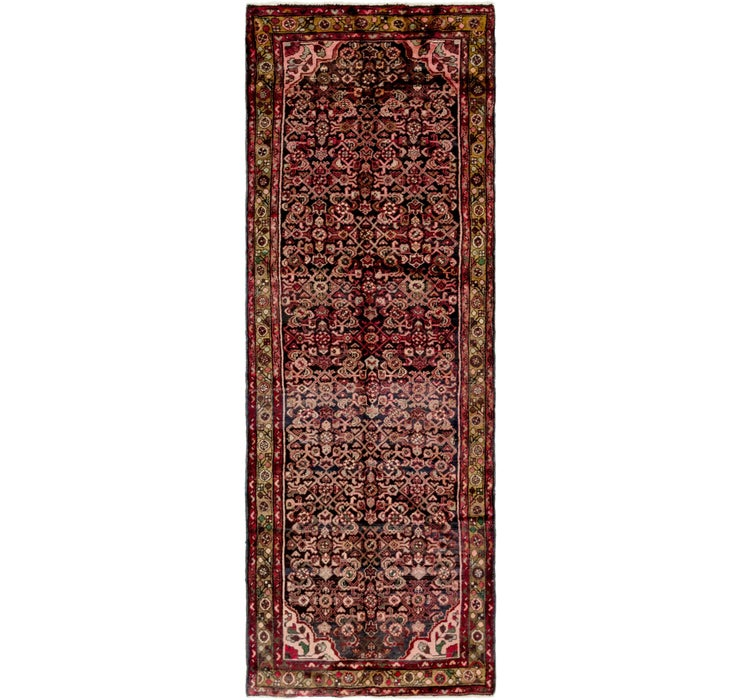 3' 7 x 10' 3 Hossainabad Persian Run...