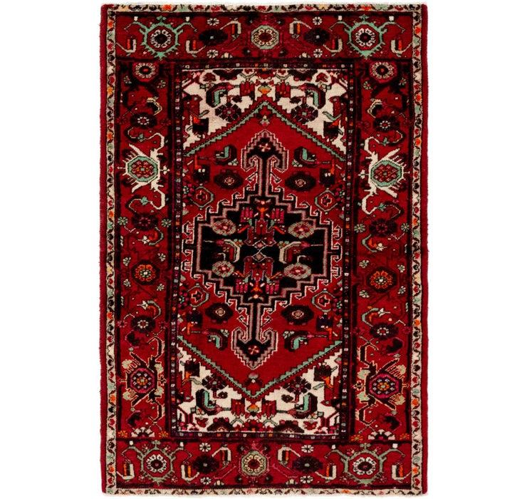 127cm x 188cm Khamseh Persian Rug