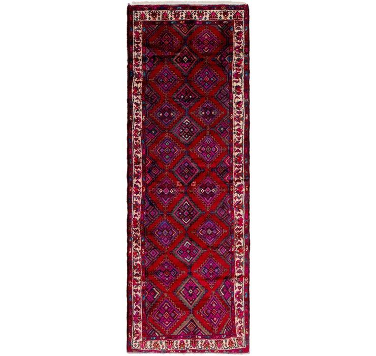 110cm x 328cm Chenar Persian Runner Rug