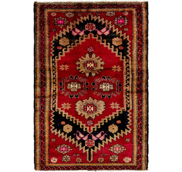 127cm x 188cm Hamedan Persian Rug