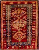 142cm x 183cm Shiraz-Lori Persian Rug thumbnail