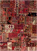 6' 6 x 9' Ultra Vintage Persian Rug thumbnail