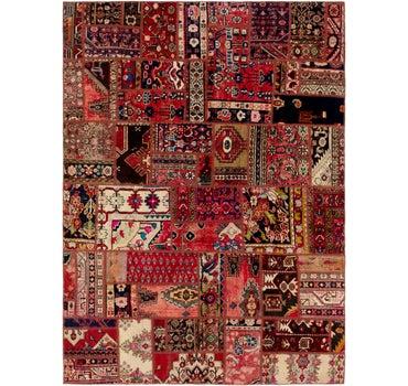 6' 6 x 9' Ultra Vintage Persian Rug main image