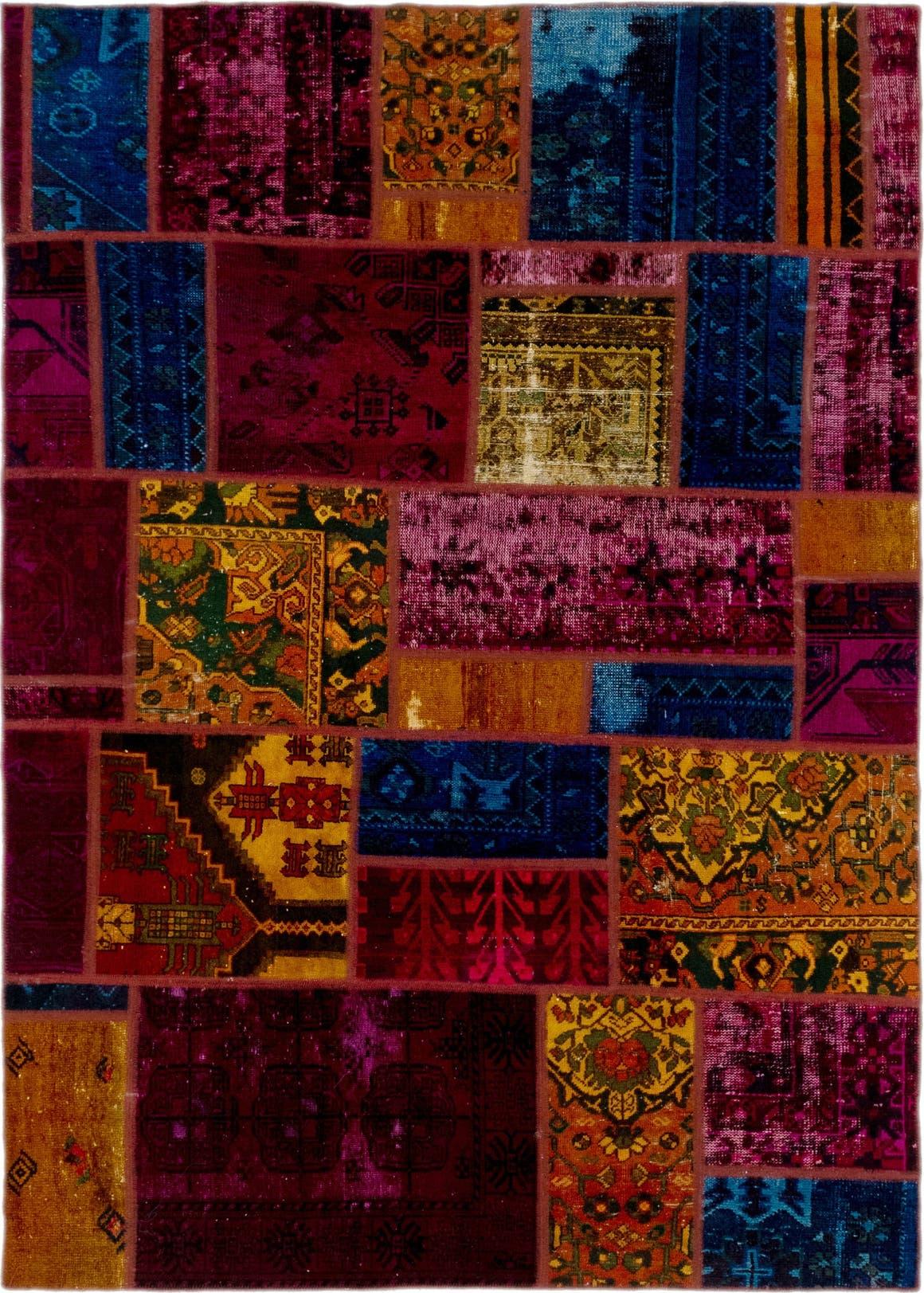 5' 9 x 8' 2 Ultra Vintage Persian Rug main image