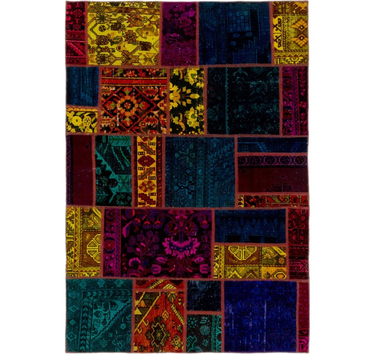 165cm x 240cm Ultra Vintage Persian Rug