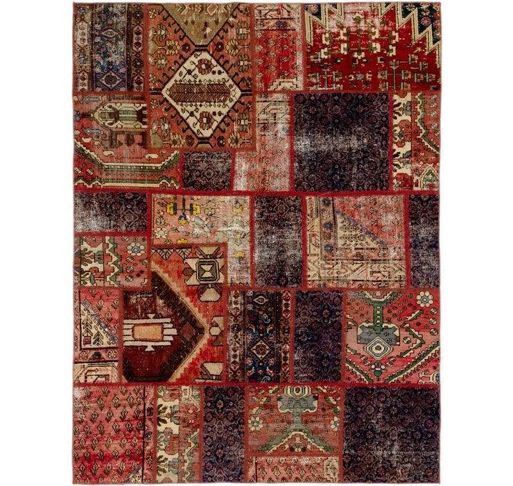 5' 10 x 7' 9 Ultra Vintage Persian Rug