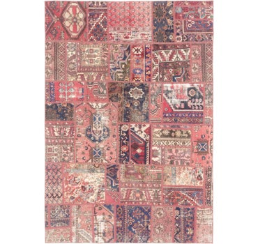 6' 5 x 9' 2 Ultra Vintage Persian Rug main image