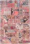 6' 4 x 9' Ultra Vintage Persian Rug thumbnail