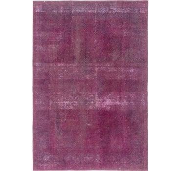 198cm x 295cm Ultra Vintage Persian Rug