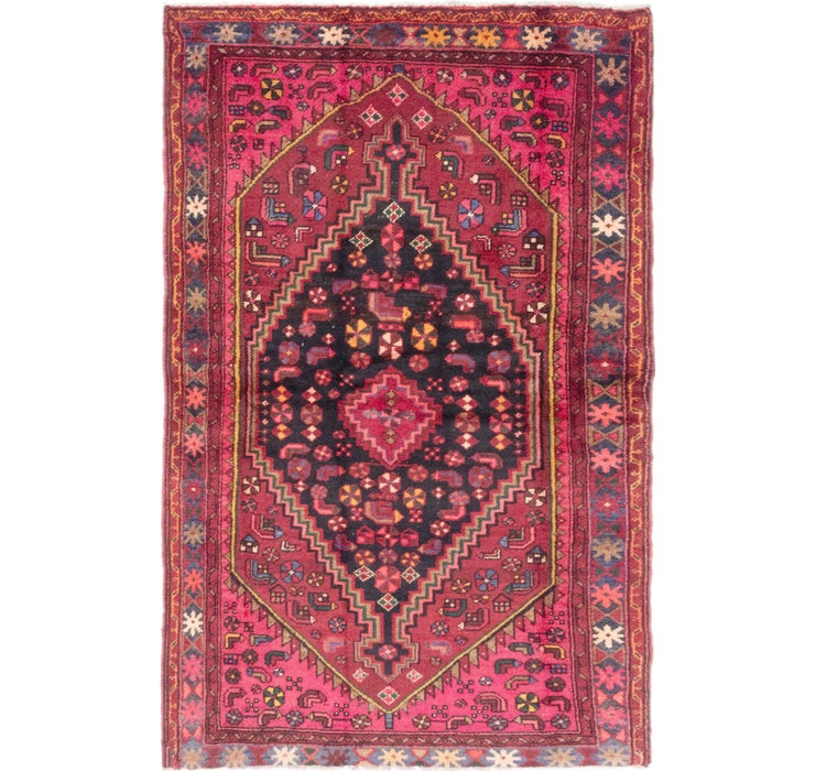 4' 3 x 6' 9 Zanjan Persian Rug