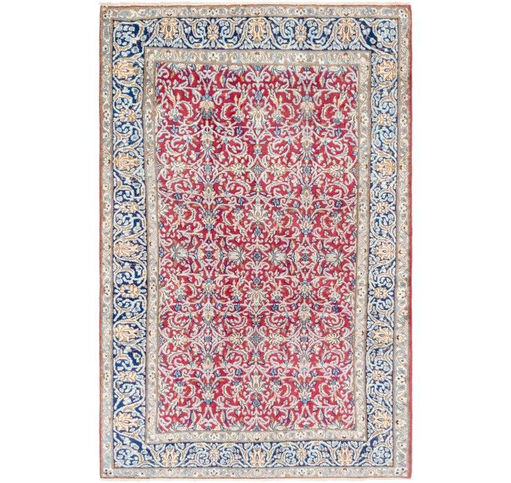 4' 10 x 7' 3 Isfahan Persian Rug