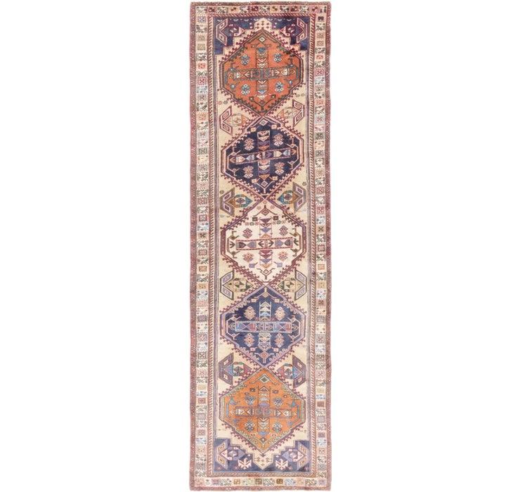 Image of 2' 7 x 9' 10 Ardabil Persian Runner ...