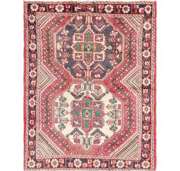 4' 10 x 6' 6 Shiraz Persian Rug
