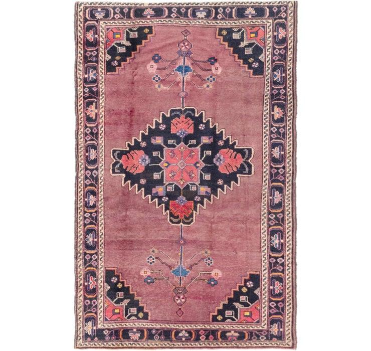 145cm x 235cm Hamedan Persian Rug