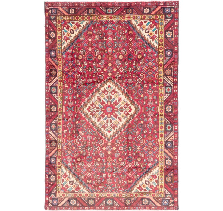 135cm x 208cm Hossainabad Persian Rug