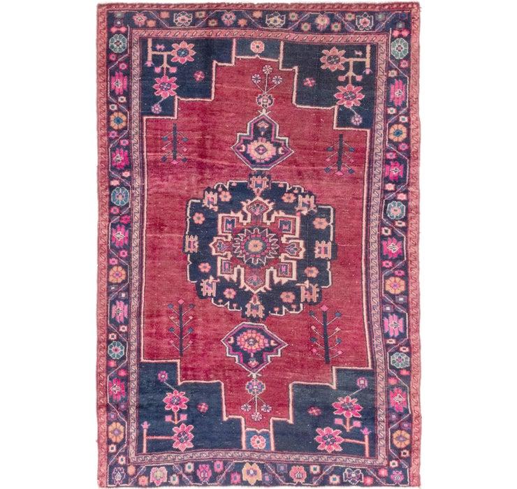 145cm x 225cm Hamedan Persian Rug