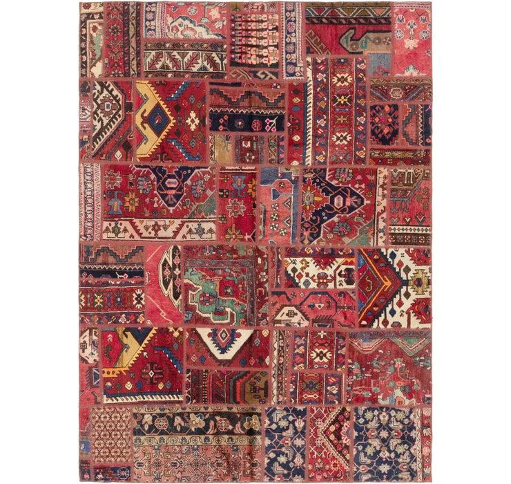 6' 9 x 9' 2 Ultra Vintage Persian Rug