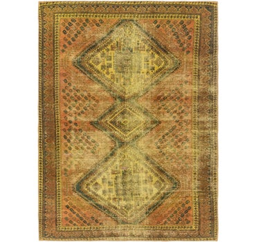 5' 2 x 7' 2 Ultra Vintage Persian Rug main image