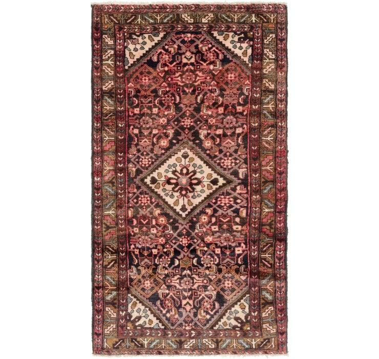 3' 7 x 6' 7 Hossainabad Persian Rug