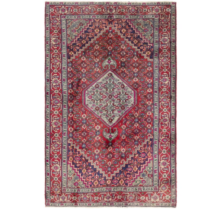 132cm x 205cm Gholtogh Persian Rug