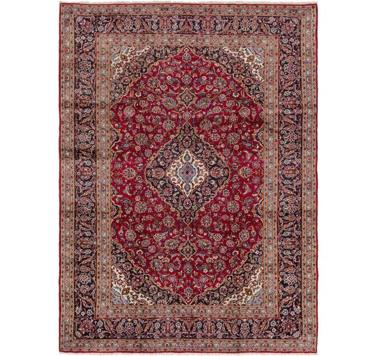 9' 9 x 13' 3 Kashan Persian Rug