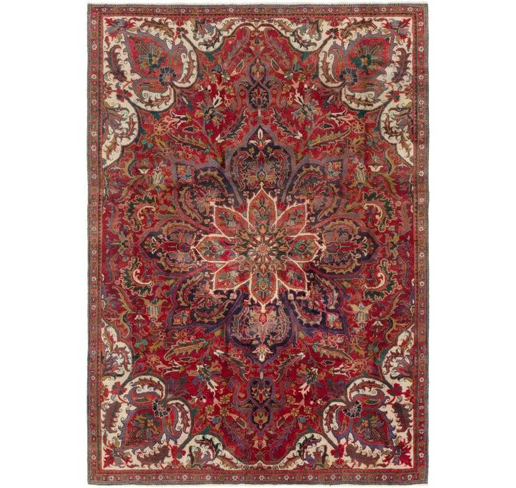 230cm x 325cm Heriz Persian Rug
