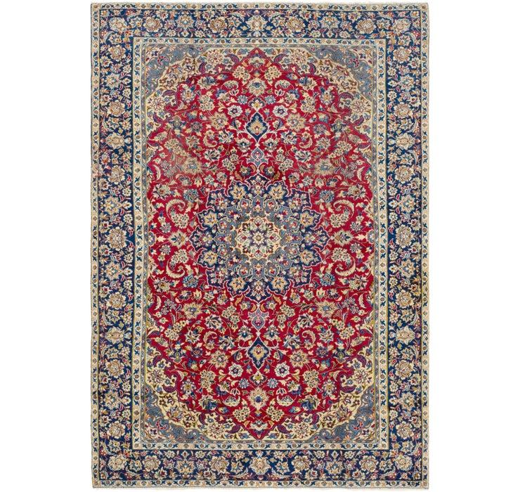 7' 9 x 11' 4 Isfahan Persian Rug
