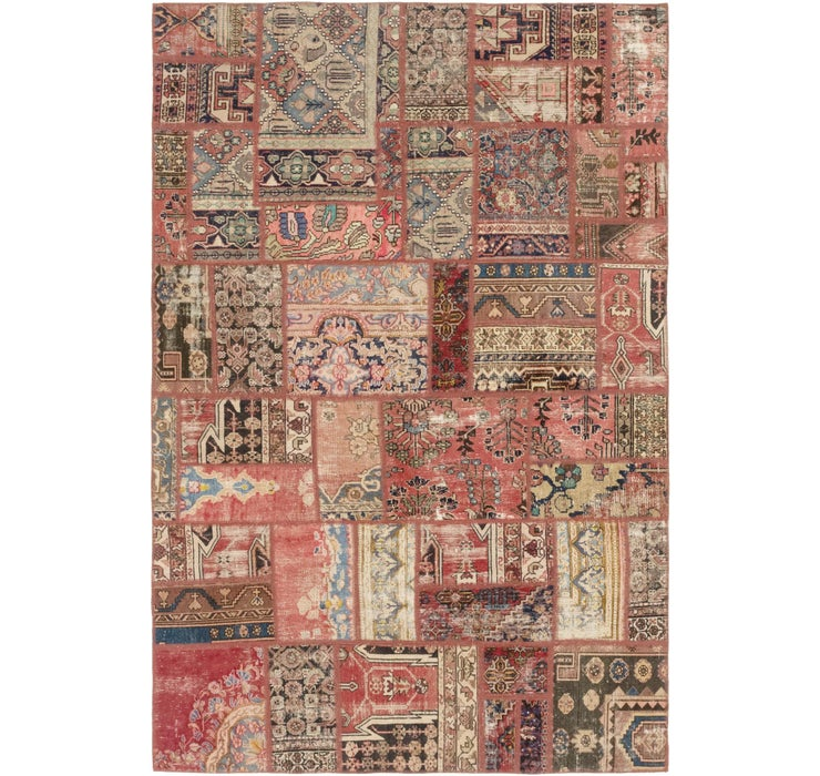 6' x 9' Ultra Vintage Persian Rug