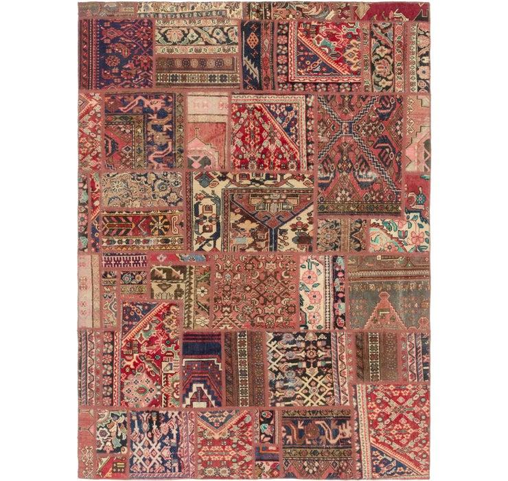 6' 8 x 9' 2 Ultra Vintage Persian Rug