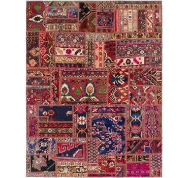 Image of 6' x 7' 10 Ultra Vintage Persian Rug