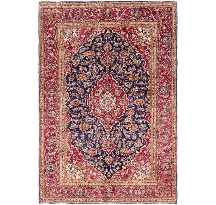 7' x 10' Kashan Persian Rug