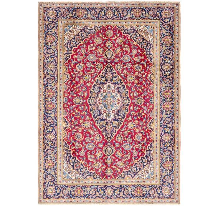 7' 2 x 10' 2 Kashan Persian Rug