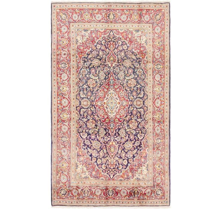 6' 4 x 10' 10 Kashan Persian Rug