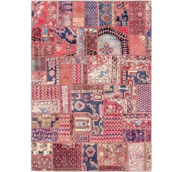 6' 4 x 8' 10 Ultra Vintage Persian Rug main image