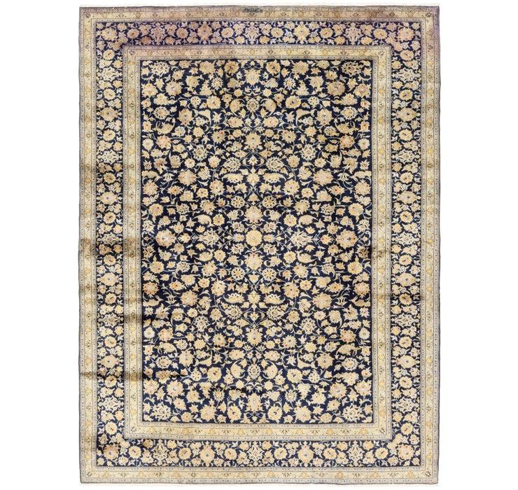 8' 7 x 11' 4 Kashan Persian Rug
