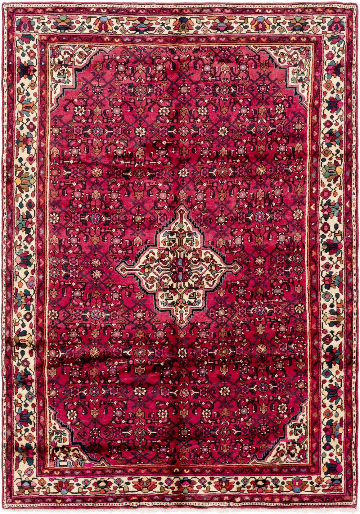 6' 9 x 9' 6 Hossainabad Persian Rug main image